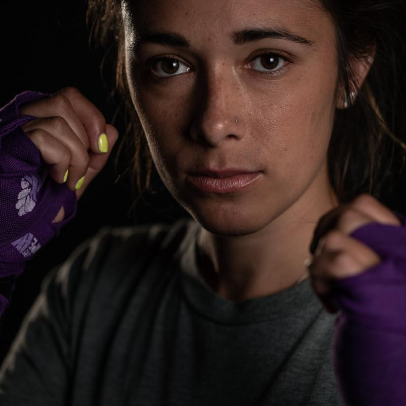 Boxer in Training: Erika Nelson